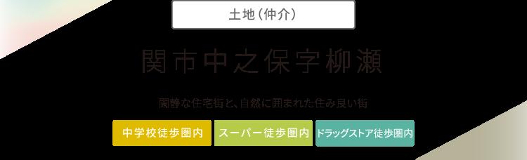 """""""関市中之保字柳瀬"""""""